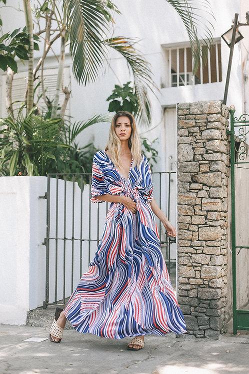 Vestido longo- Ibiza