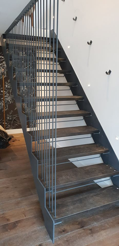 Bespoke stair installed