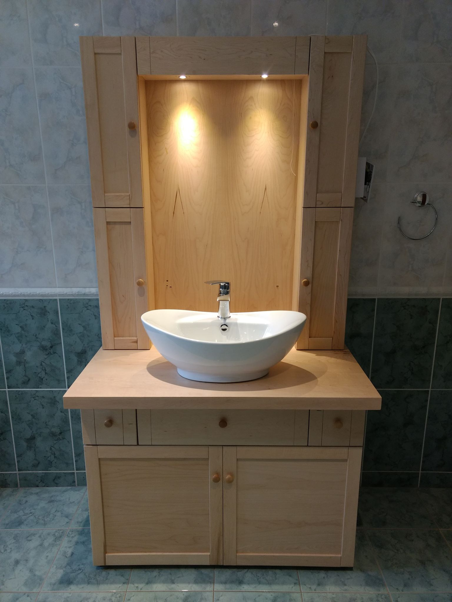 Bespoke bathroom cabinet