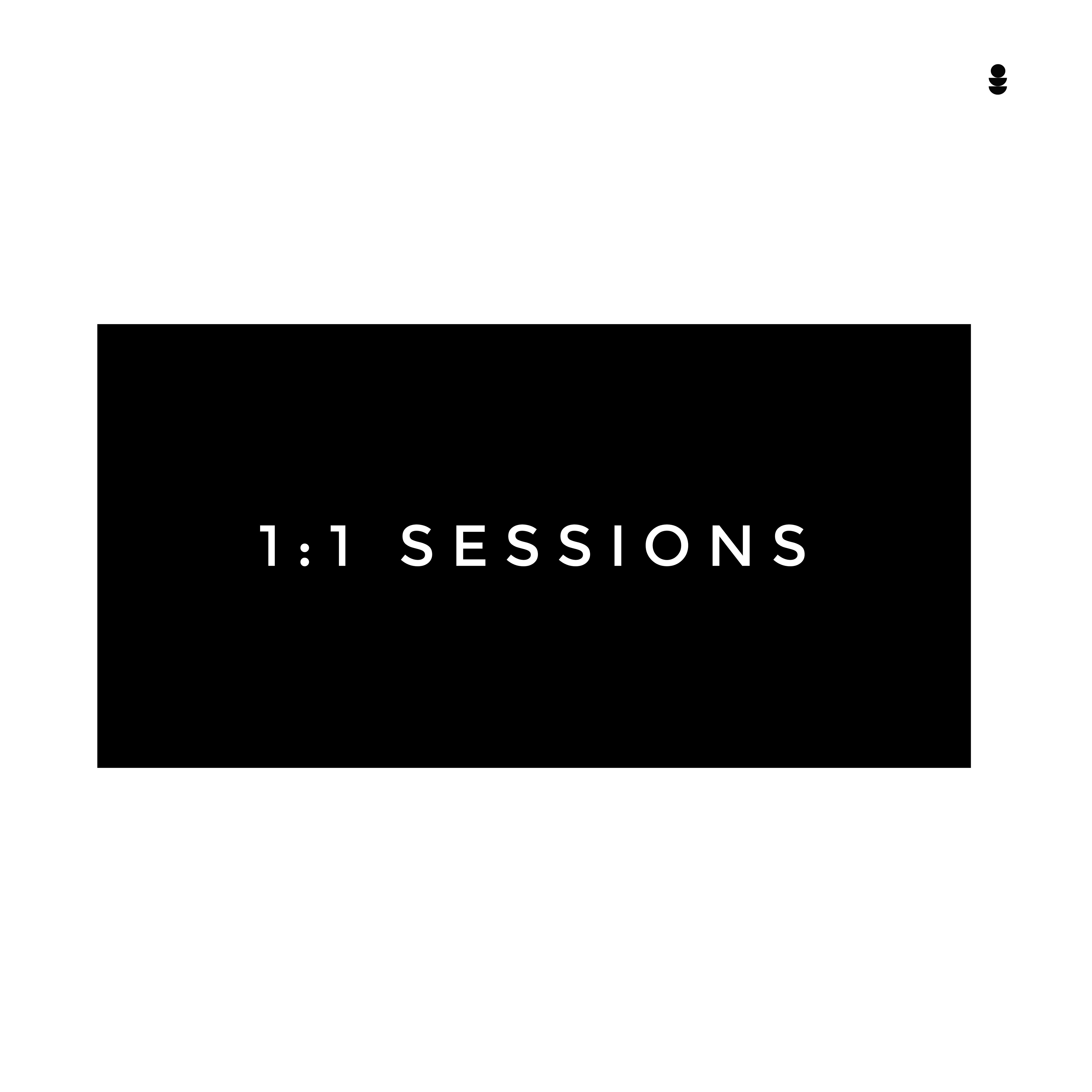 Block of 4 sessions 1:1 or small group