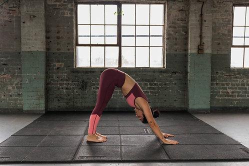 Pink high waist performance Leggings