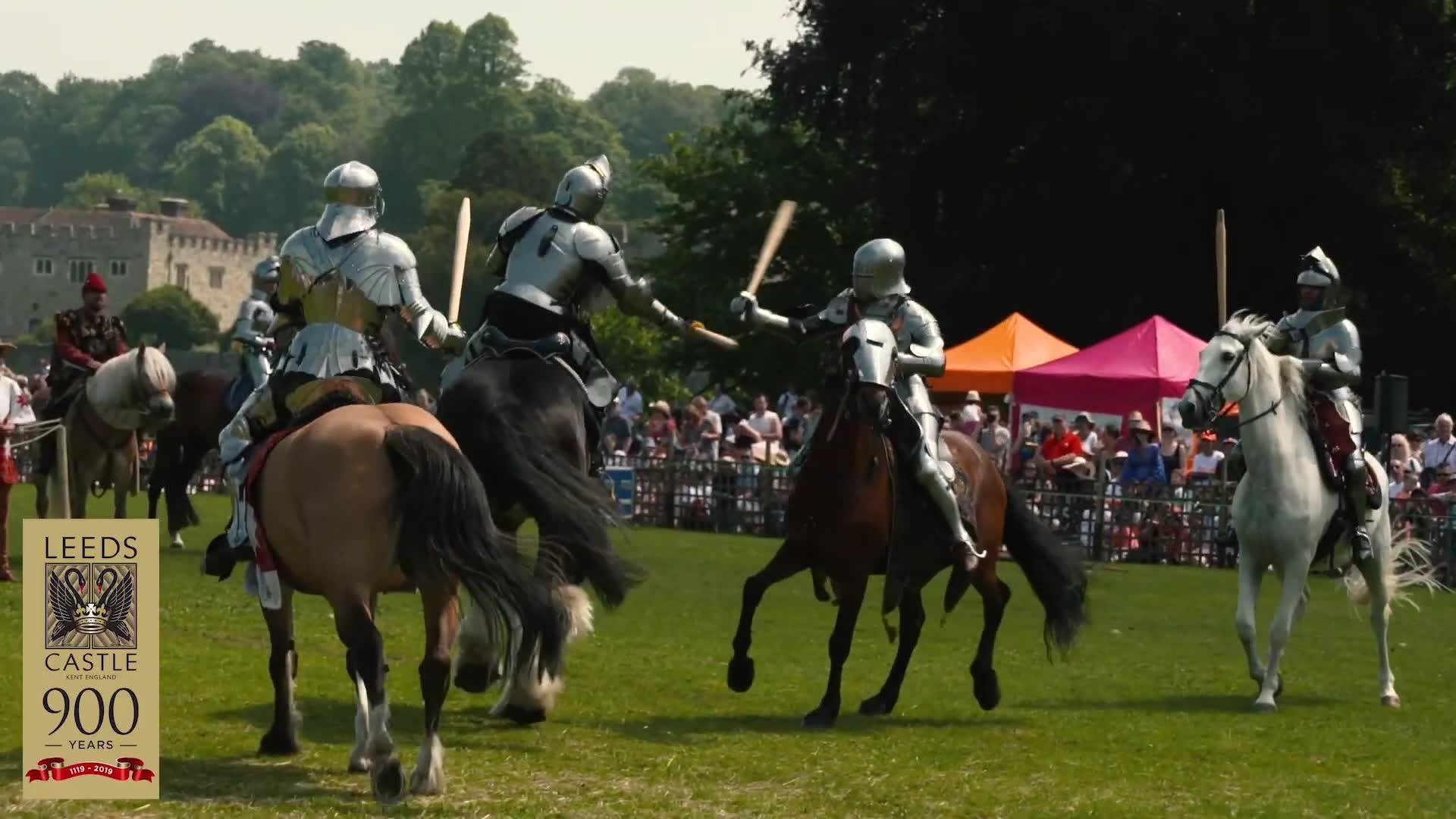 Destrier & Chevalerie Initiatique at Leeds  Castle 2019