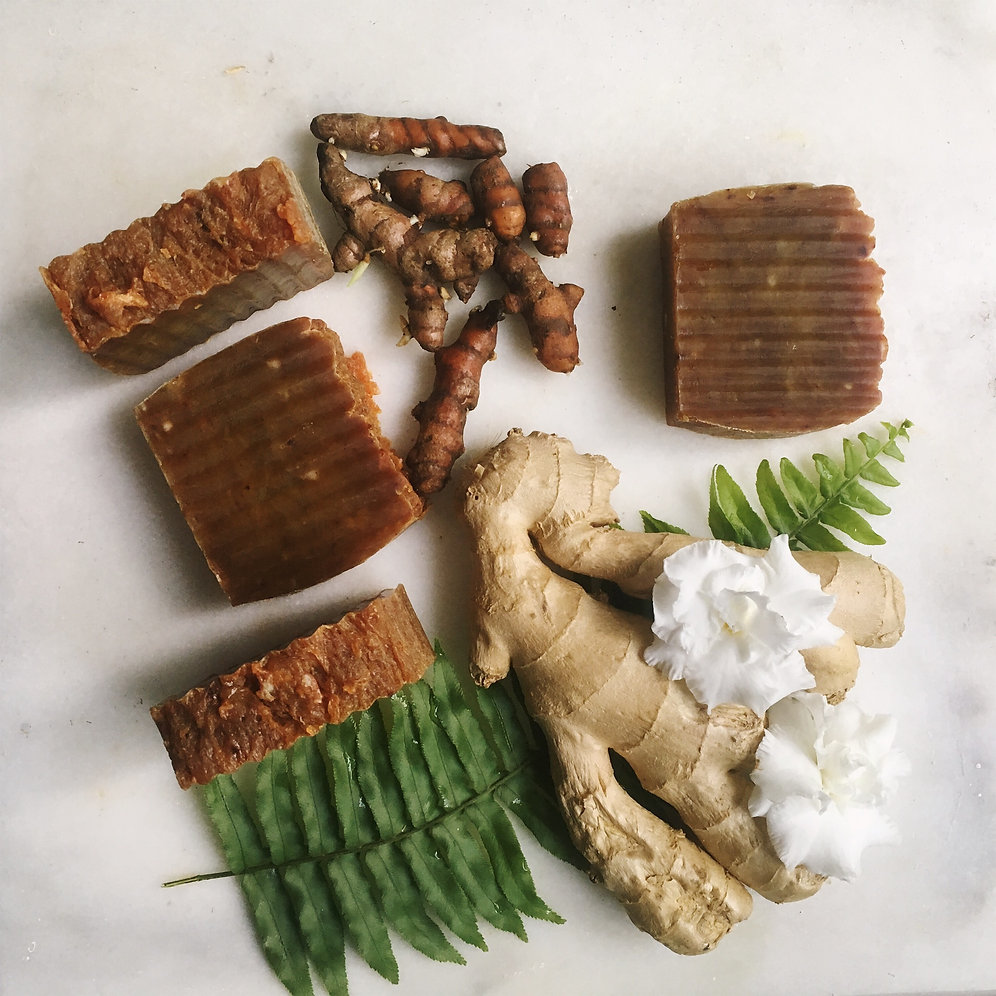 Ginger and Turmeric Soap | Morivivi