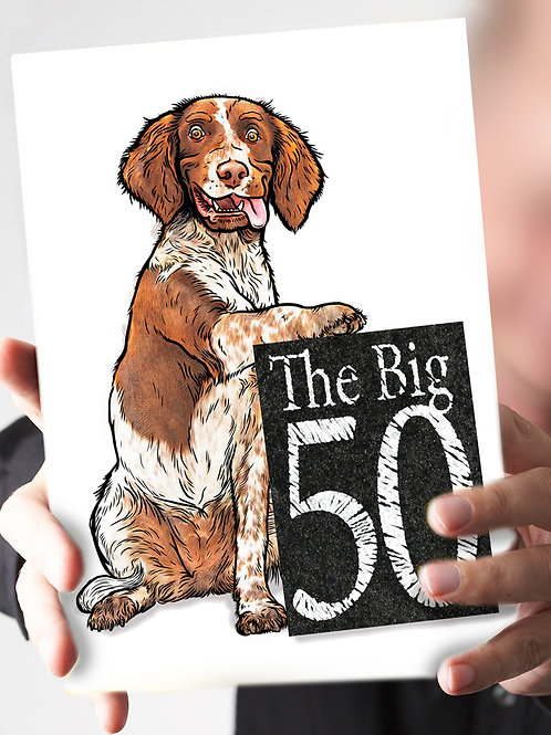 Ref 59 – 50 ... Lifes just begun L&W spaniel