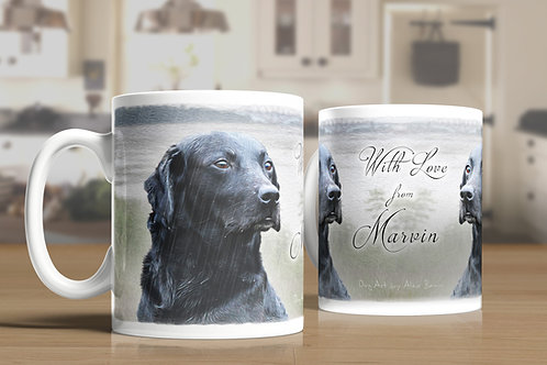 YOUR dog on YOUR mug . . . cheers!