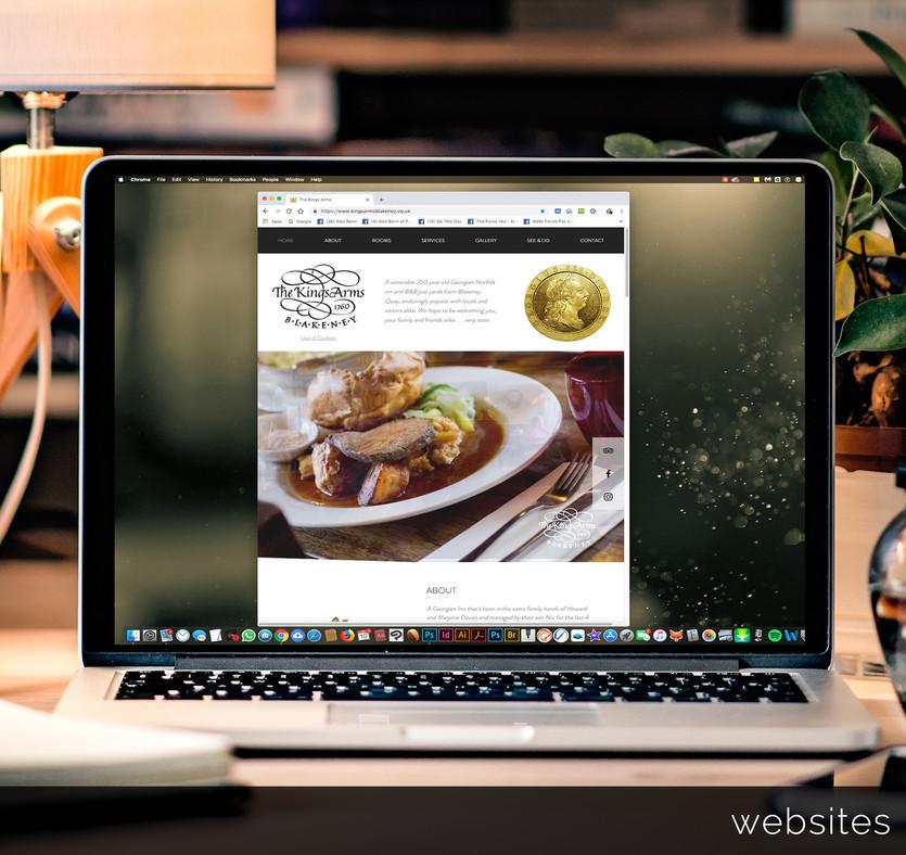 Restaurant web site design.._