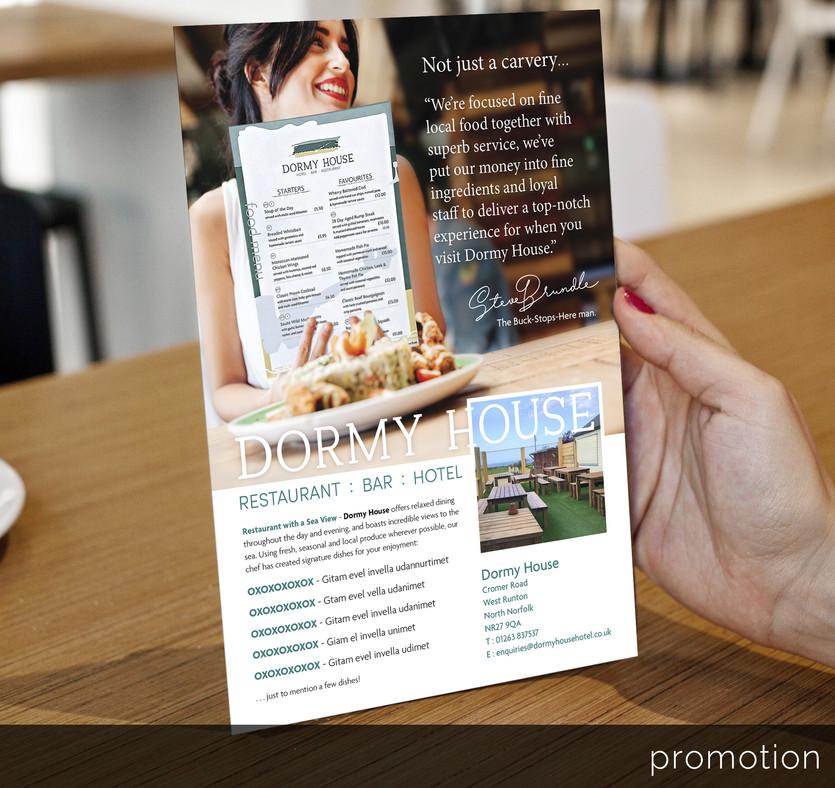 Restaurant menu design.._