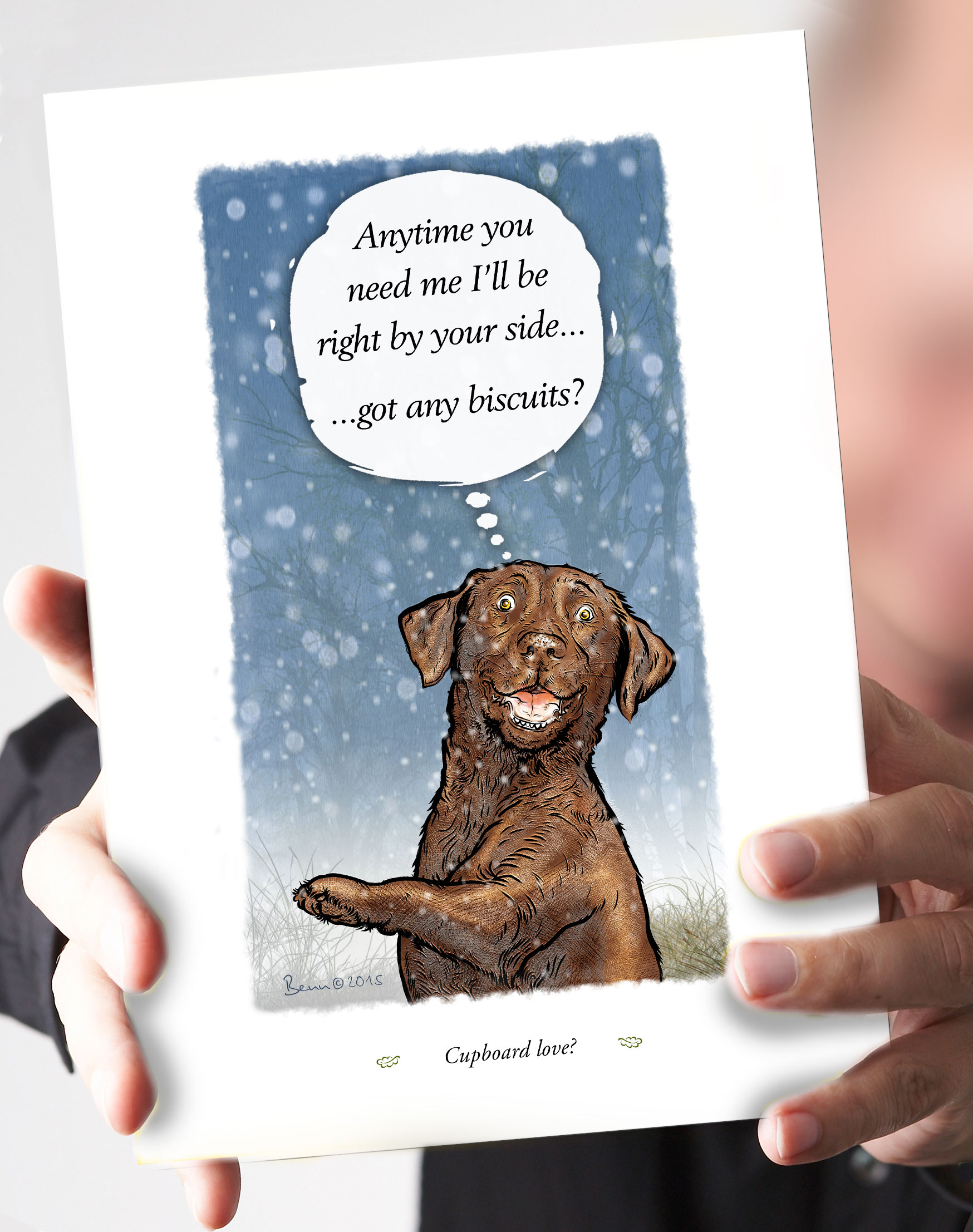 71-cupboard-love-chocolate-lab-snow-card