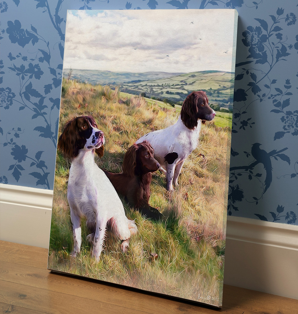 Scovell Gundogs Canvas