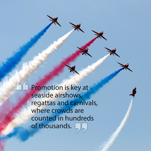Publicity is the key to airshows...