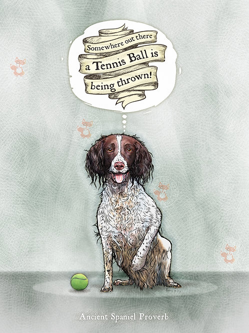'Somewhere a Tennis Ball is being thrown' - L&W