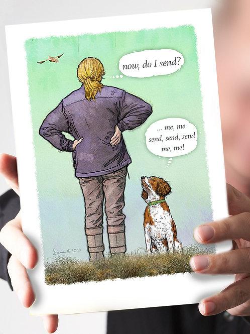Ref 70 - 'do I send?' – L&W Spaniel