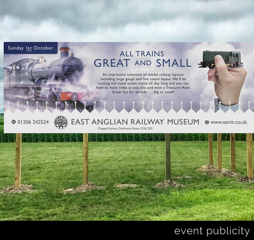 Publicity banners.._