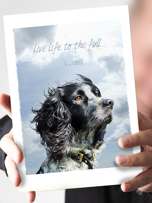 Ref 110  – 'Live Life to the Full' . . .