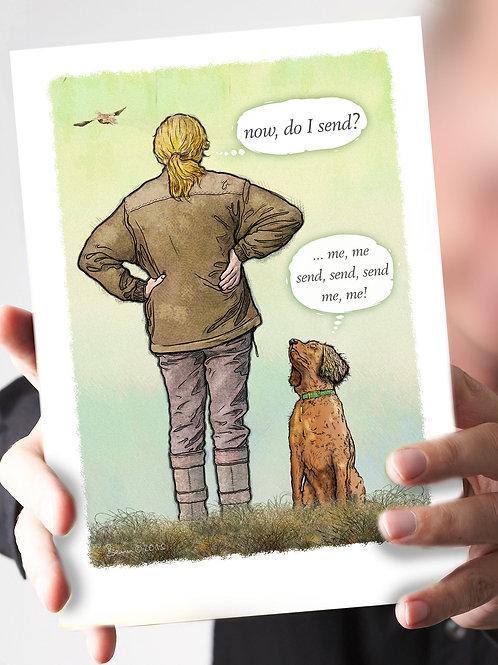 Ref 66 - 'do I send?' – Amber Spaniel