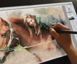 How I paint . . . digitally!