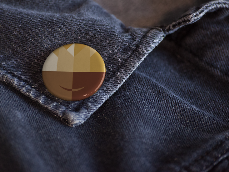 close-up-mockup-of-a-button-on-a-dark-de