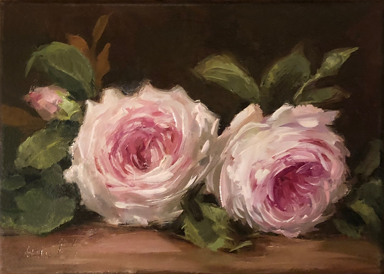 "Latour Roses Still Life, Limited Edition PRINT 8""x10"
