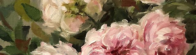 THE WEDGWOOD ROSE Roses Oil on linen 5x6