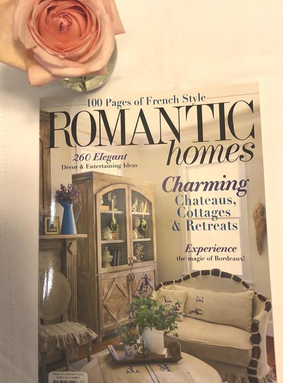 Starting the New Year Happy: Romantic Homes Magazine