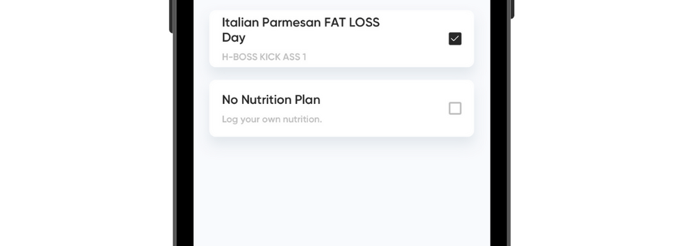 Daily Nutrition Guidance