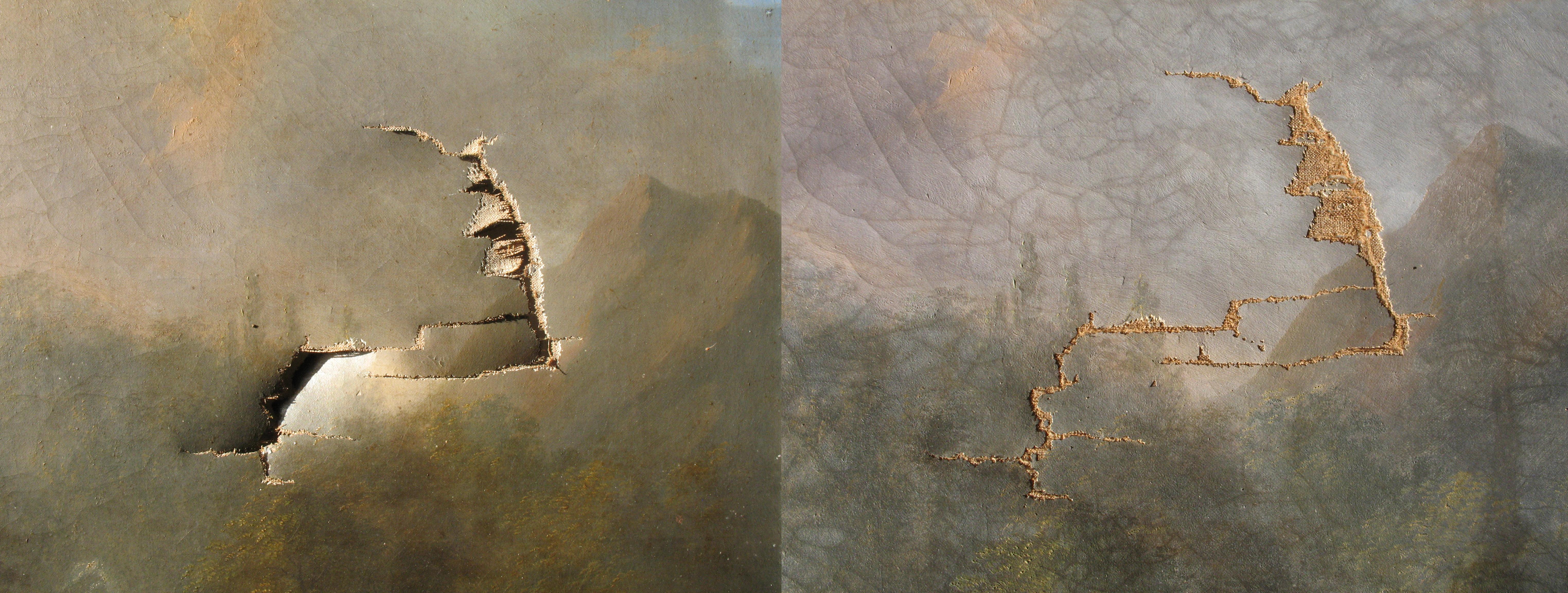 Remise à plat et collage