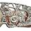 Thumbnail: Fibbia sbalzata in argento e ambra