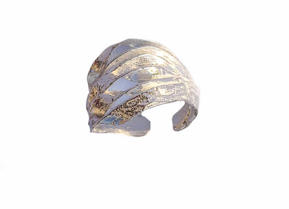 Anello in argento microfuso