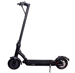 Motor: 350W  Max Speed: 25kph  Battery: 36V/ 7.8Ah  Wheel Size: 8.5in  Brake: Disc Brake  Tire: Inflatable tire  Max Load: 90kg