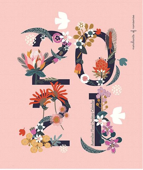 2021 Desktop Australian wildflower Calendar