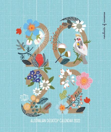All Australian Wildlife Desktop Calendar 2022