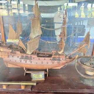 Barco Chino a Escala