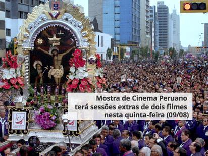 Mostra de Cinema Peruano terá sessões extras de dois filmes nesta quinta-feira (09/08)