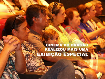 Cinema do Dragão realizou mais uma Exibição Especial