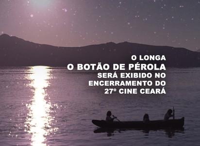 """O longa """"O Botão de Pérola"""" será exibido no encerramento do 27º Cine Ceará"""
