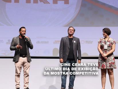 Cine Ceará teve último dia de exibição da Mostra Competitiva