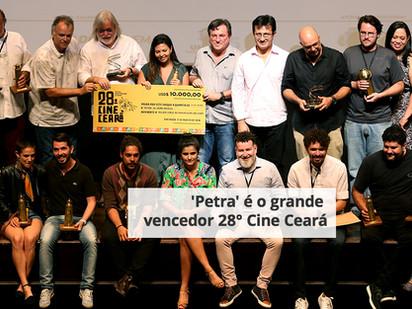 'Petra' é o grande vencedor 28° Cine Ceará