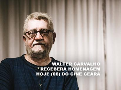 Walter Carvalho receberá homenagem hoje (06) do Cine Ceará