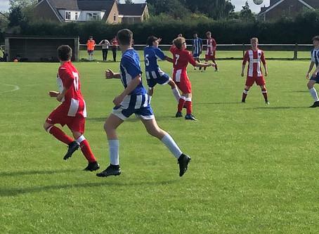 Under 15's Kick Off Their Season