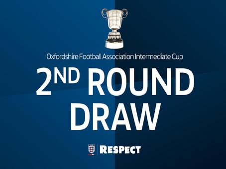 OFA Intermediate Cup Draw