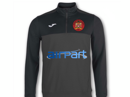 Airpart Sponsor Woodstock Town Tracksuits