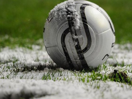 Both Men's Games Fall Foul of the Weather