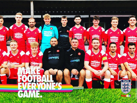 Proud to Support the Rainbow Laces Campaign
