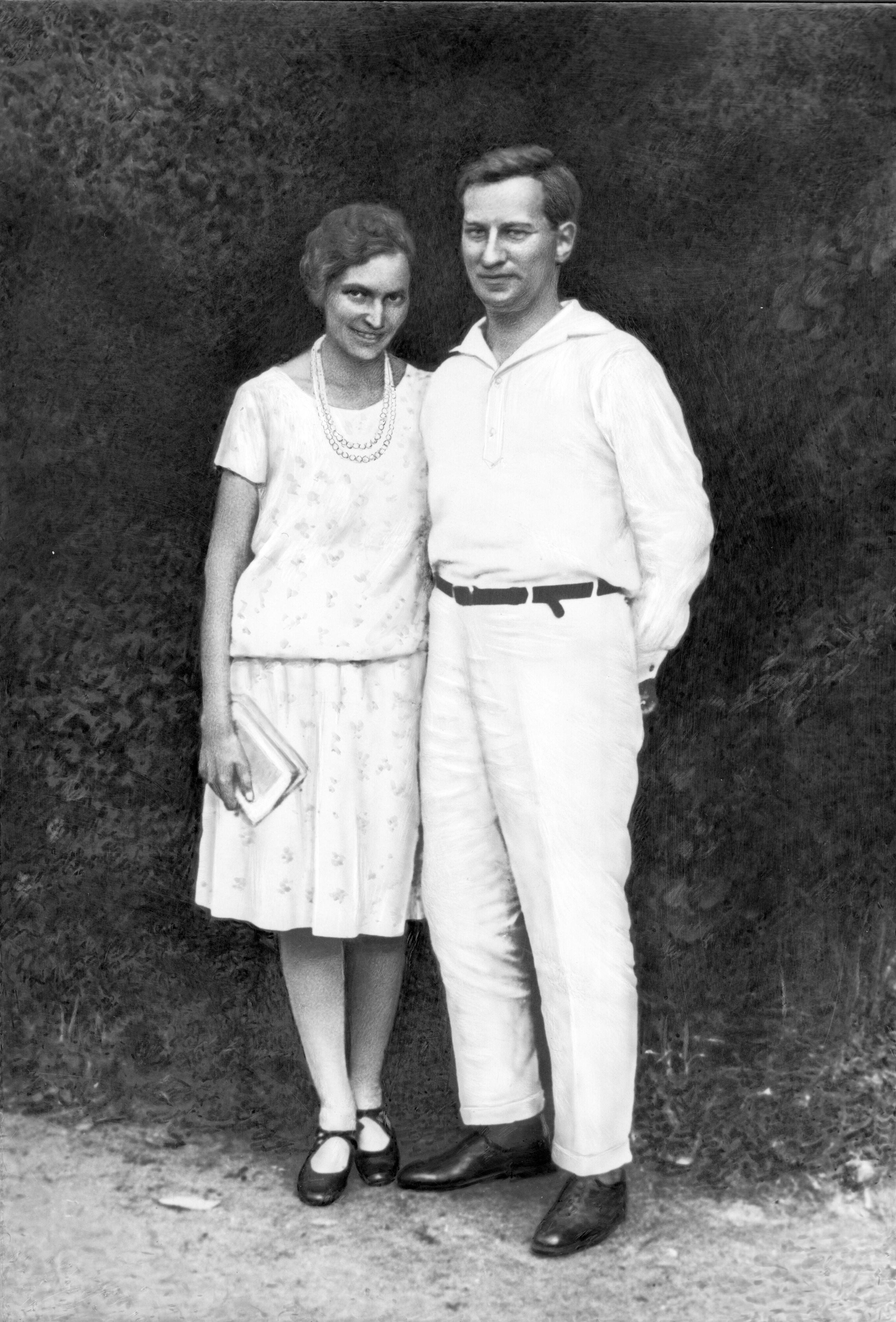 Витвер с женой  1936