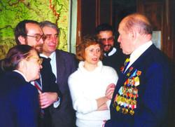 Заведующий кафедрой, ветеран В.В.Вольский 9 мая на кафедре
