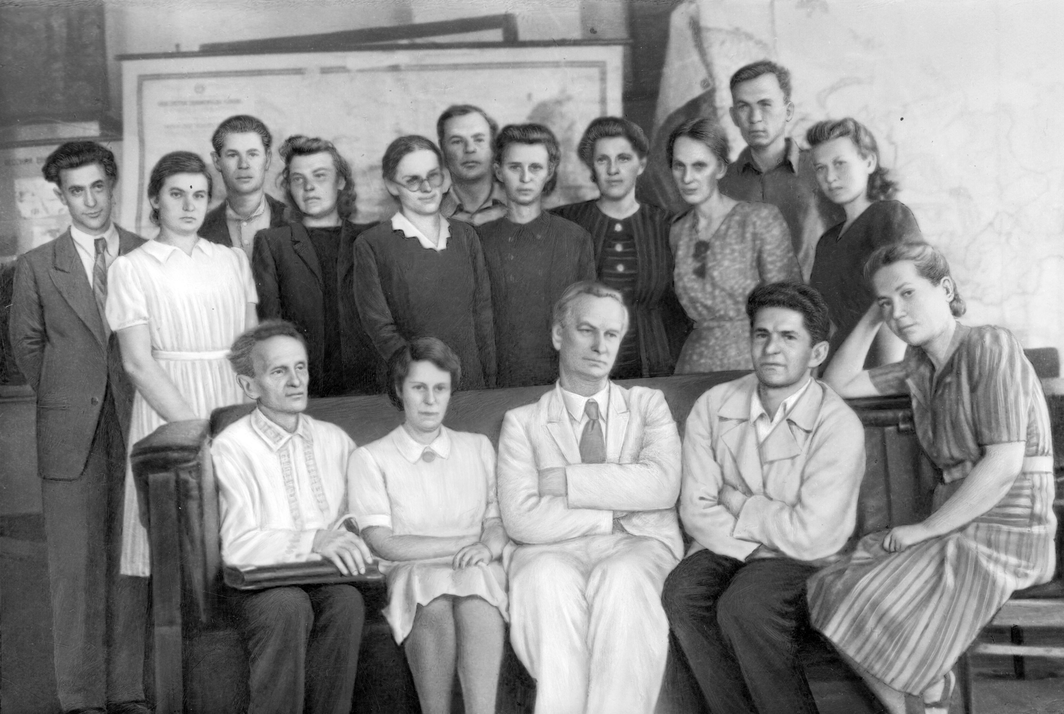 Витвер после госэкзамена 1947