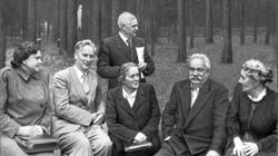 Витвер на даче Баранского 1951