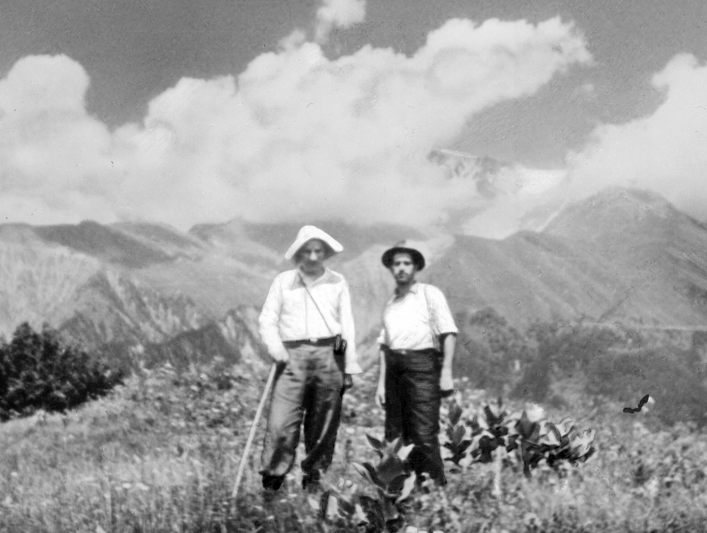 Витвер в горах (близ Шови) с Валевым 195