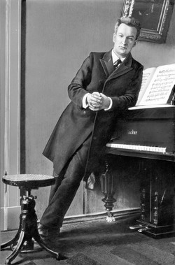Студент консерватории 1915