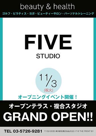 FIVE STUDIO オープニングPOP.jpg